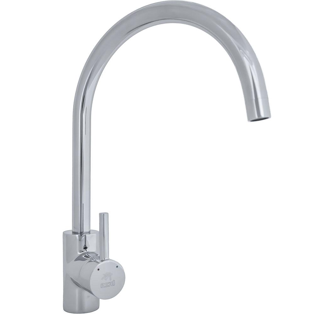 Slavina za sudoper - niskotlačna - obli izljev